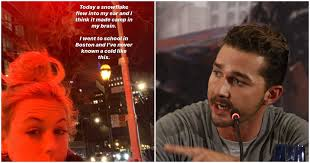 A video of shia labeouf getting tested for covid went viral because of how wholesome it is. Pieces Of A Woman Is Shooting In Montreal So You May See Shia Labeouf In The City Mtl Blog