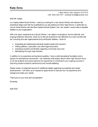 Best Ideas Of Sample Cover Letter For Social Work Brilliant Cover