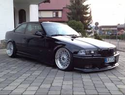 All BMW Models bmw 195 wheels : Black BMW e36 coupe on BBS Super RS wheels   BMW E36 - Culture ...