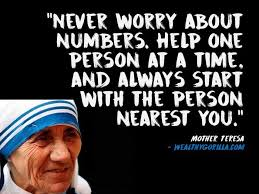 Mother Teresa Quotes Unique 48 Inspirational Mother Teresa Quotes About Giving Wealthy Gorilla