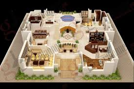 decor home design with 3d floor plan layout and 2 bedroom house plans indian style