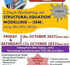 structural equation modelling sem using ibm spss amos