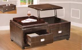 lift top ottoman coffee table for living room decor ideas