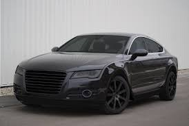 audi a7 blacked out. audi a7 blacked out s