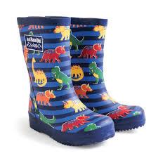 Patterned Rain Boots Unique Design