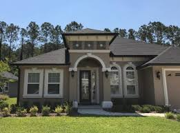 gutters jacksonville fl. Wonderful Jacksonville Black Seamless Gutters Installed On This St Johns County Home Intended Gutters Jacksonville Fl R