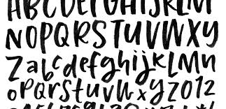 how to prepare lettering for font making