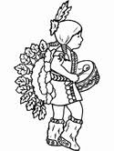 Small Picture Native American Coloring Pages