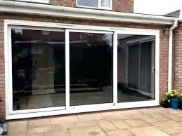 triple sliding glass patio doors surprising door interior design 8