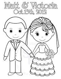 Small Picture Free Printable Wedding Coloring Pages At esonme