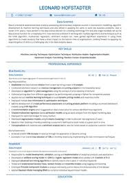 Data Scientist Resume Sample Unique Data Scientist Resume Sample Colbroco