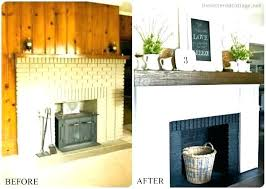 fireplace cover up covering brick fireplace with stone tile ceramic fireplace doors home depot canada
