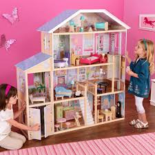 new kidkraft majestic mansion doll house large furniture kids play  new kidkraft majestic mansion doll house large furniture kids play fits barbies