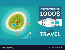 travel voucher template free travel voucher travel to paradise flat