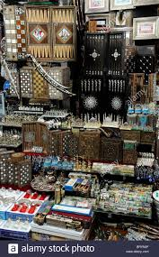 kapali carsi or grand bazaar of istanbul ceramics gifts souvenirs on turkey backgammon board games