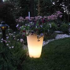 rust oleum glow in the dark paint flower pots. led glowing planter rust oleum glow in the dark paint flower pots g