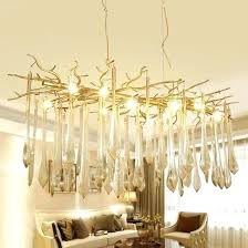 modern branch chandelier industrial crystal chandelier vintage wrought iron industrial handmade tree branch crystal chandelier modern