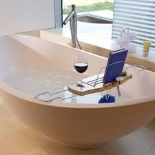 Bathtub Tray Umbra Bamboo Bathtub Caddy Wine Holder Bathroom Candle Stand
