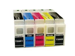 5-Pack <b>350ml Compatible</b> Cartridges for <b>EPSON</b> Stylus Pro 7700 ...
