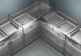 Amazing Kitchen Corner Cabinets Interesting Decoration Storage