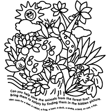 Small Picture Hidden Animals Coloring Page crayolacom