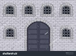 Medieval Doors medieval castle wall doors barred windows stock vector 629018558 3769 by guidejewelry.us