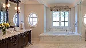 This master bathtub did not require a compromise. The room is so large they  were still able to have a long vanity and a walk in shower.