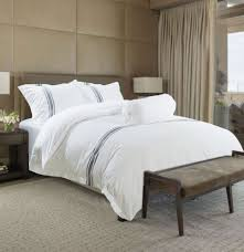 hotelier prestigio luxury white greyish stripe quilt cover display gallery item 1 display gallery item 2 display gallery item 3