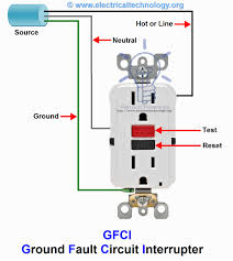 gfci electrical schematic wiring diagram introduction to GFCI Outlet Wiring with Switch gfci wiring diagrams mastertopforum with regard to gfci receptacle rh studioy us electrician wiring diagrams basic electrical schematic diagrams
