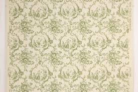 vintage wallpaper. Unique Vintage 1950s Vintage Wallpaper Green Scenic Toile Thomas Strahan  With G