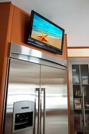 Tv In Kitchen Abt Custom Theater Installations