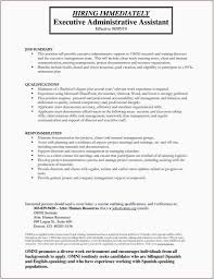 Bilingual Resumes Resume Samples Bilingual New 22 Free Administrative Assistant