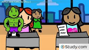using rhetorical skills to write better essays   video  amp  lesson    using rhetorical skills to write better essays   video  amp  lesson transcript   study com