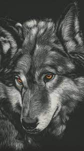 Ideas For Iphone Wolf Wallpaper Black ...