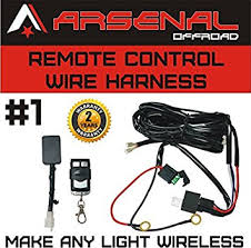 amazon com wireless remote control universal wiring harness off Wiring LED Lights at Amazon Led Wiring Harness