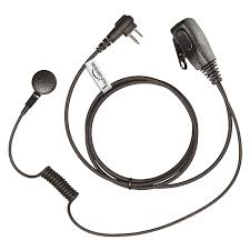 motorola earpiece. this mp style motorola radio 2 pin earpiece is a low-cost solution for the two way user who wants private communication.