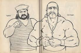 Every day new 3d models from all over the world. Wrestling Hulk Hogan Coloring Pages Coloring And Drawing