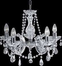 black chandelier lighting photo 5. 3995 Marie Therese Chrome 5 Light Chandelier With Crystal Droplets Black Lighting Photo M