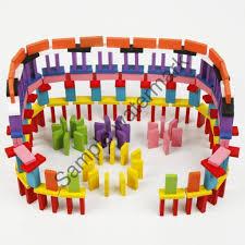 Mua Đồ chơi trẻ em - Bộ đồ chơi Domino Gỗ nhiều màu | HÀNG MỚI chỉ 51.232₫