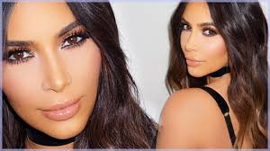 kim kardashian bronze smokey eye look y dramatic makeup tutorial you