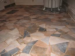 re tiling bathroom floor. Upcycled Mismatched Tiles Make A Great Mosaic Floor! We Re-did Our Bathroom Floor With Different Tiles, Broken Plates, And Beach Rocks. Re Tiling H