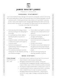 Management Cv Template Ms Word Free Product Manager Cv Template Cv Template Master