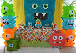 best 25 monster party ideas