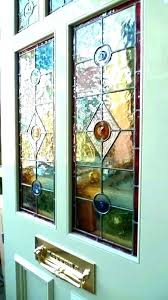 stained glass stained glass windows for doors front door with window next to inserts jays tree