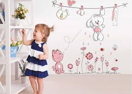 cool decorative wall decals for kids room