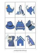 Small Picture Printable Preschool Activities for Learning Colors