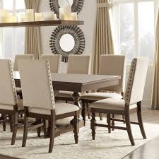 nailhead dining chairs dining room. Large Images Of Leather Nailhead Dining Chair Grey Threshold Lennox Chairs Room
