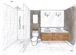 bathroom interior design sketches. Plain Interior Master Ensuite Room Design And Renderring By Carol Reed Interior Design To Bathroom Design Sketches Creed