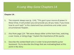 A Long Way Gone Quotes Adorable Annotation Is A Key Component Of Close Reading Since We Will