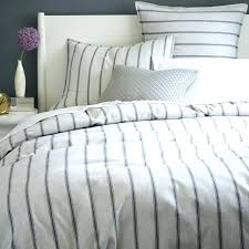 ticking bedding blue ticking bed skirt ticking bedding pinstriped linen duvet cover gray and white stripes stonewashed